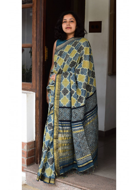 Collection:Chaap-Our Printed Sarees:AJ/JK/SA/24A