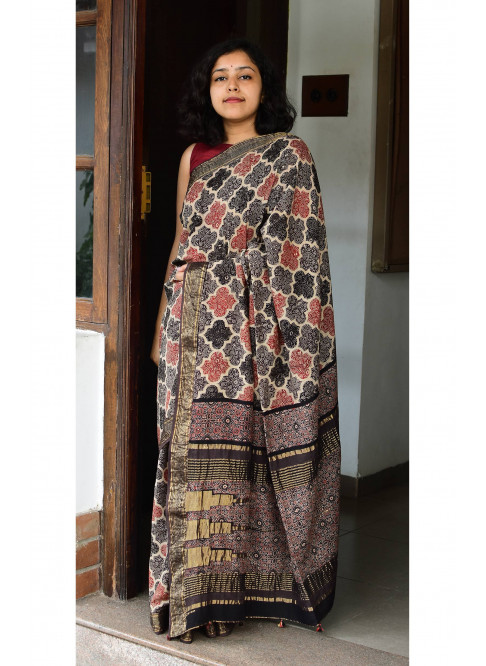 Collection:Chaap-Our Printed Sarees:AJ/JK/SA/24B