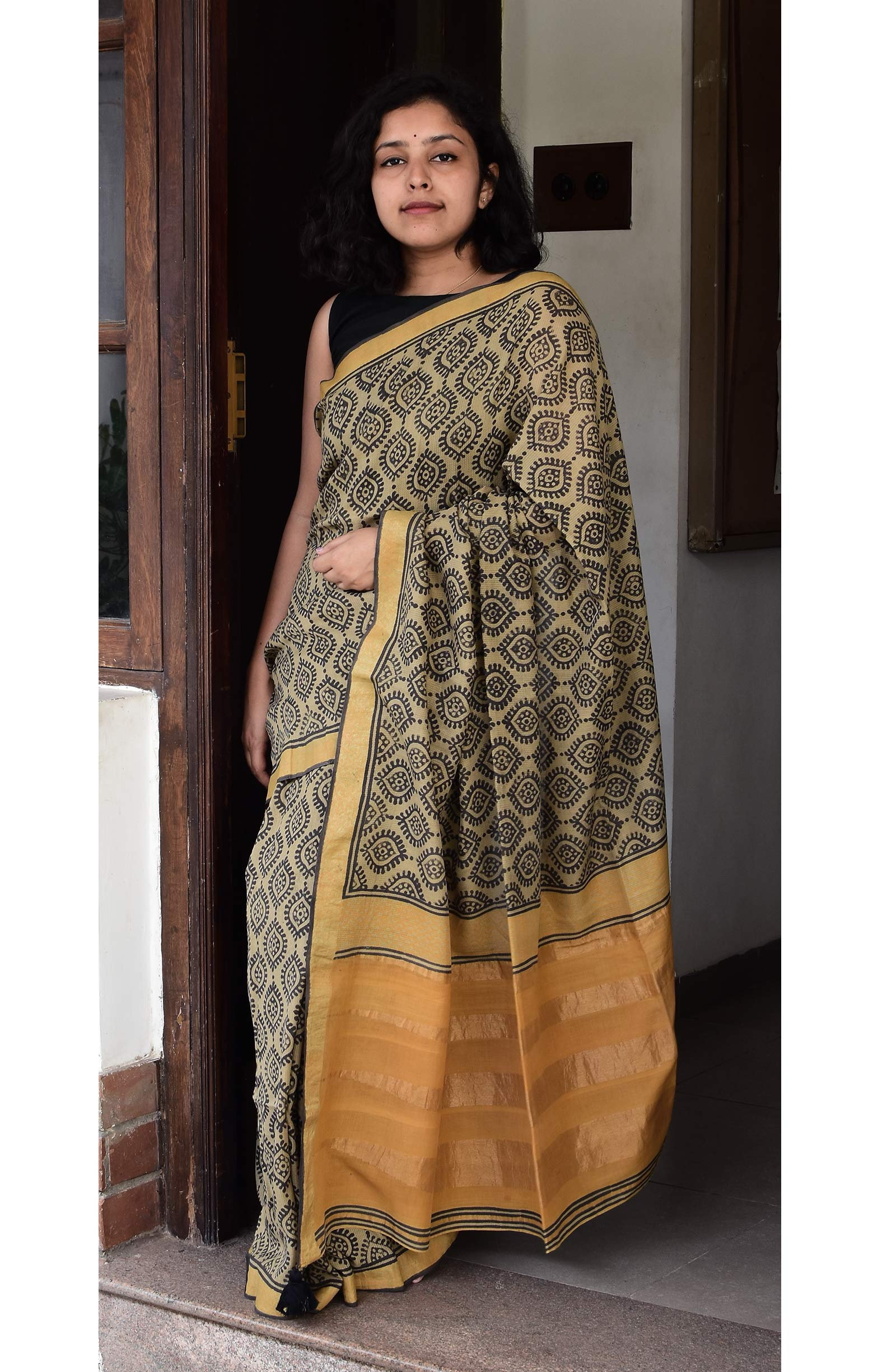 Collection:Chaap-Our Printed Sarees:BO/PSA/1