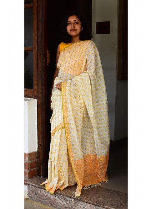 Collection:Chaap-Our Printed Sarees:BO/PSA/16