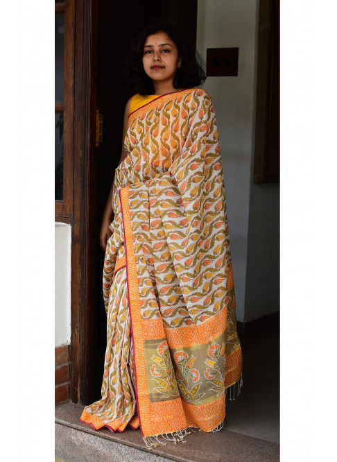 Collection:Chaap-Our Printed Sarees:BO/PSA/17