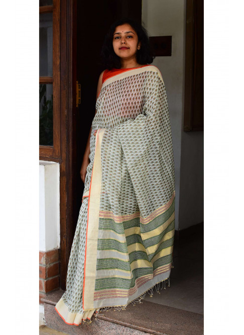 Collection:Chaap-Our Printed Sarees:BO/PSA/20