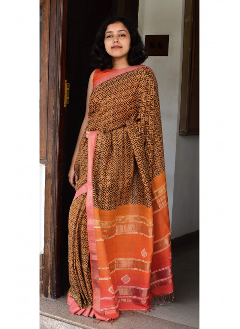 Collection:Chaap-Our Printed Sarees:BO/PSA/27
