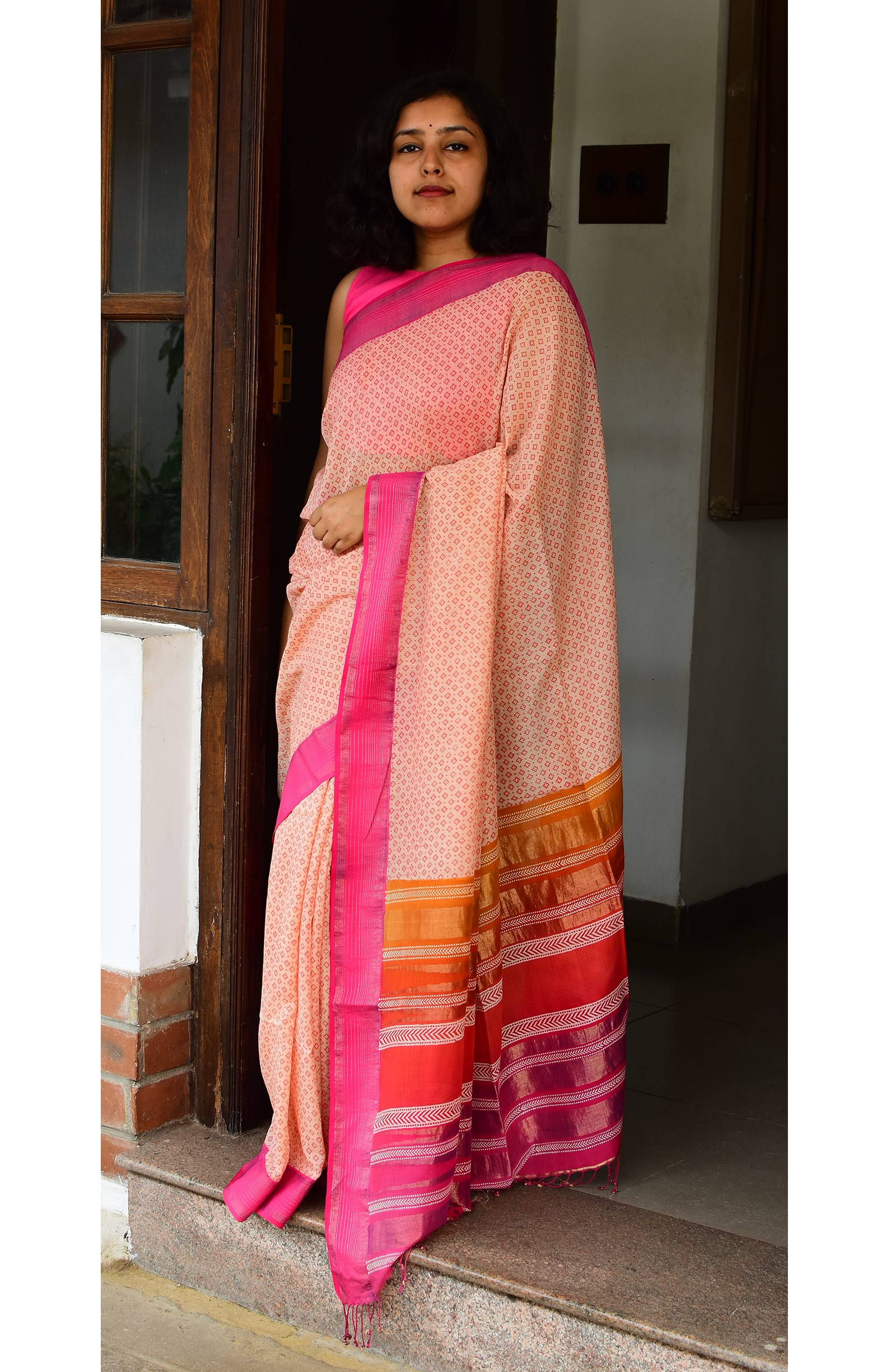 Collection:Chaap-Our Printed Sarees:BO/PSA/31