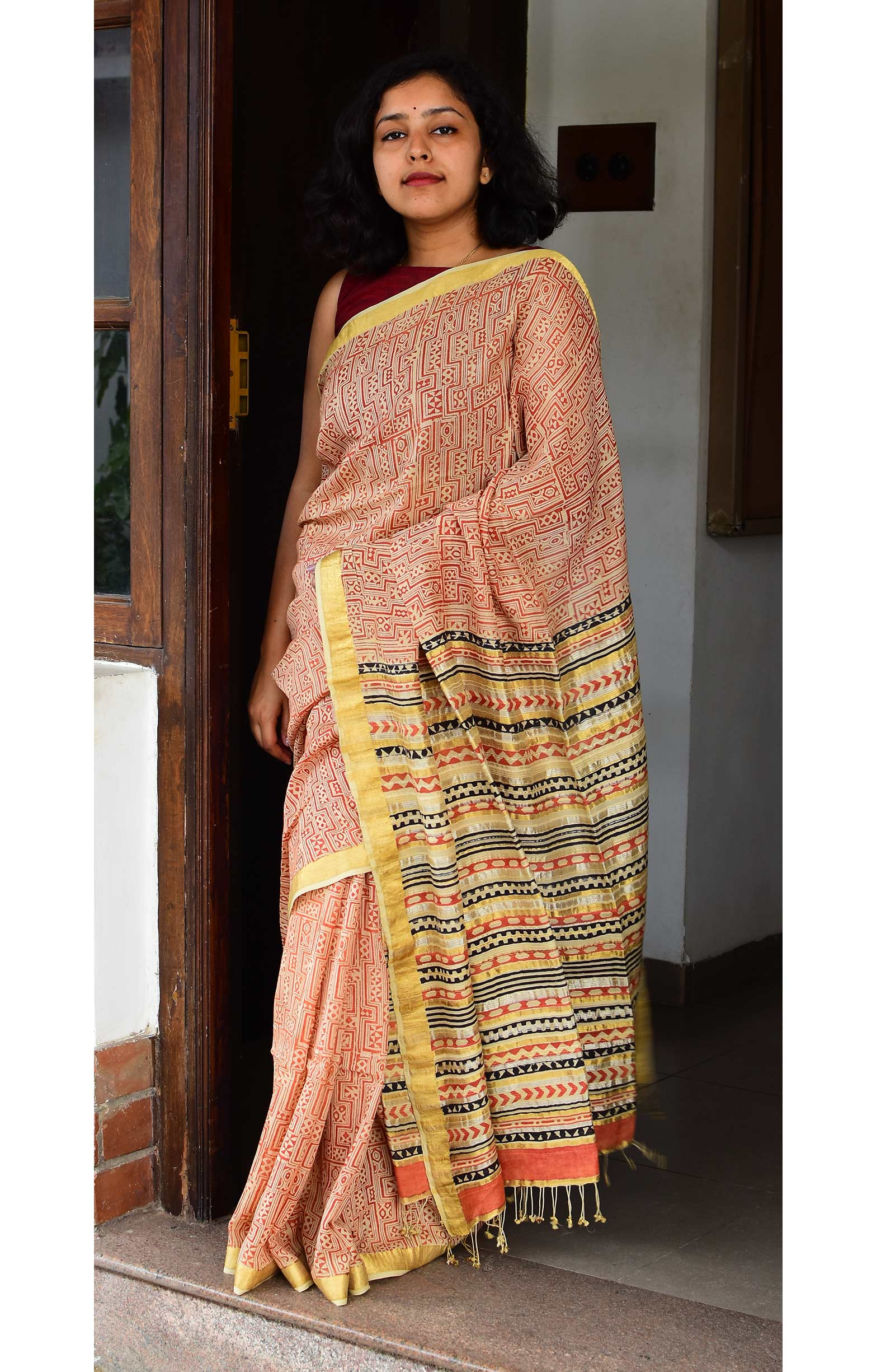 Collection:Chaap-Our Printed Sarees:CB/SA/11B