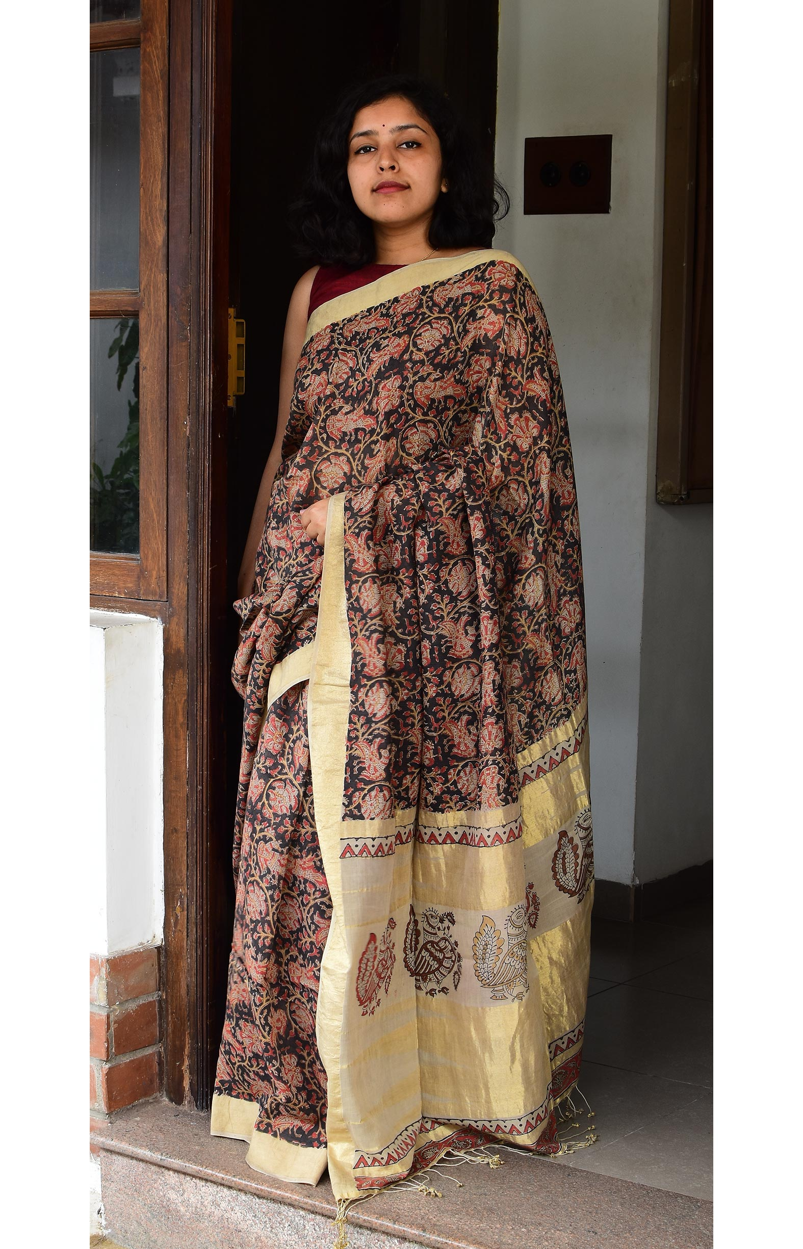 Collection:Chaap-Our Printed Sarees:CB/SA/18A